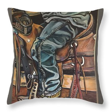 Practice Gear Throw Pillow