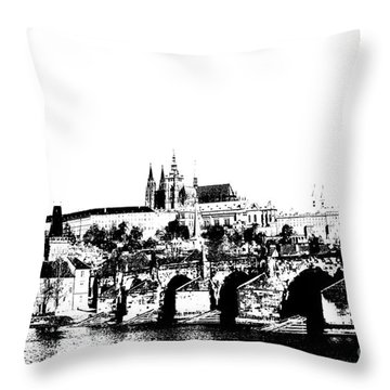 Cityspace Throw Pillows