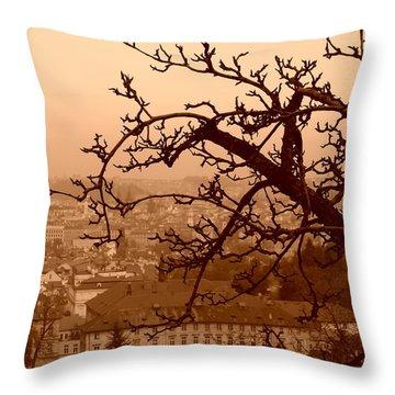 Prague Throw Pillow