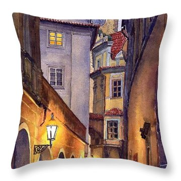 Watercolours Throw Pillows