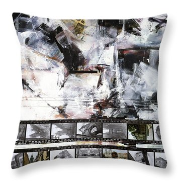 Prague Souvenir II Throw Pillow