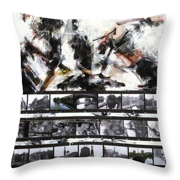 Prague Souvenir - Sanctus II Throw Pillow