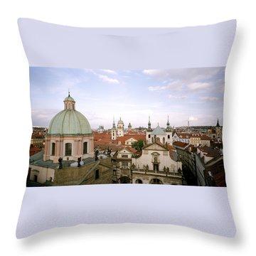 Prague Twilight Throw Pillow