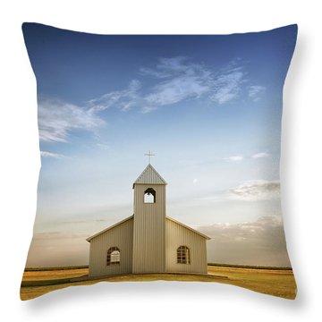 Prairie Faith Throw Pillow