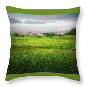 Prairie Farm Throw Pillow