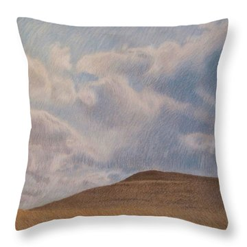 Prairie Hill Throw Pillow