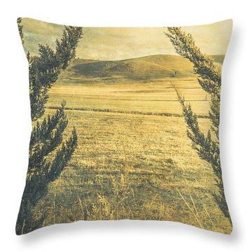 Prairie Hill Throw Pillow
