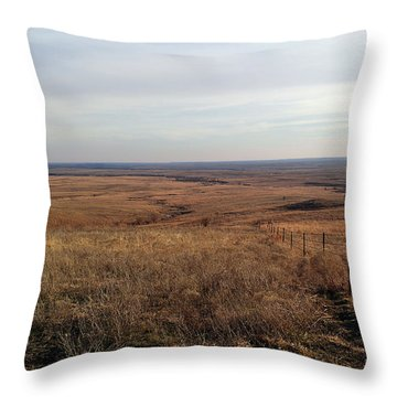 Prairie Hills To Infinity Throw Pillow