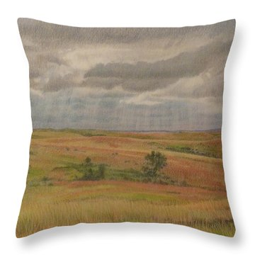 Prairie Light Throw Pillow