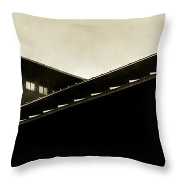 Prairie Lines Throw Pillow