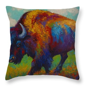Prairie Muse Throw Pillow