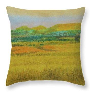 Prairie Reverie Throw Pillow