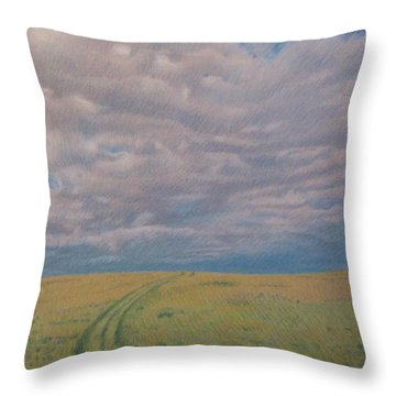 Prairie Trail Throw Pillow