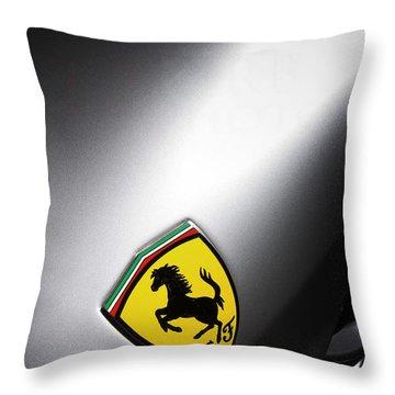 Prancing Horse Throw Pillow