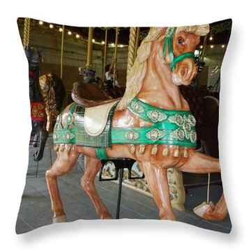 Prancing To The Music Throw Pillow