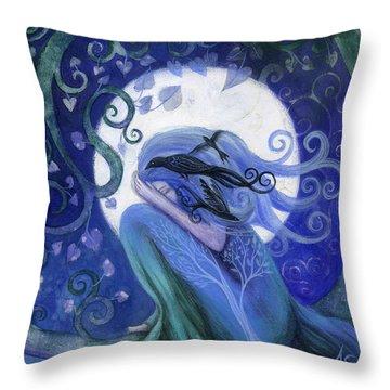 Amanda Clark Throw Pillows