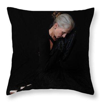 Prayer For Flight Throw Pillow