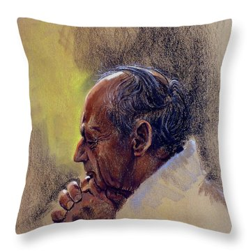 Prayer. Hope In God Throw Pillow