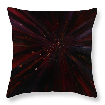 Prayer Of Anger Throw Pillow