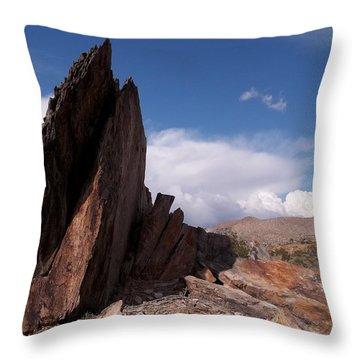 Prayer Rocks - Route 66 Throw Pillow