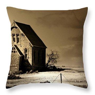 Drought Throw Pillows