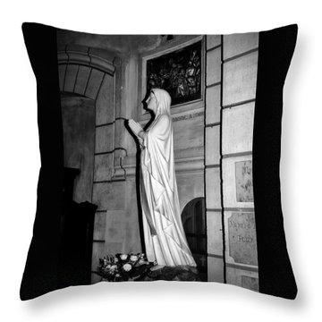 Praying Nun 2 Throw Pillow