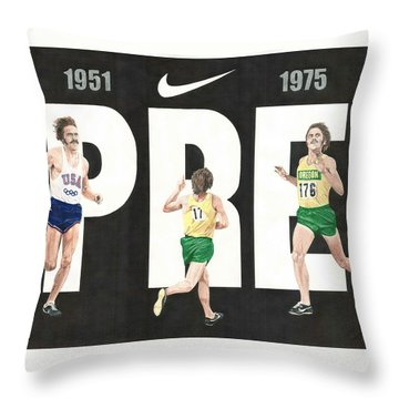 PRE Throw Pillow