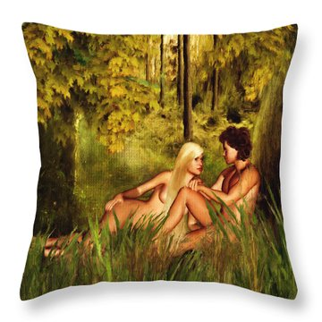 Pre-consciousness Throw Pillow