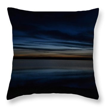 Pre-dawn's Glow Throw Pillow