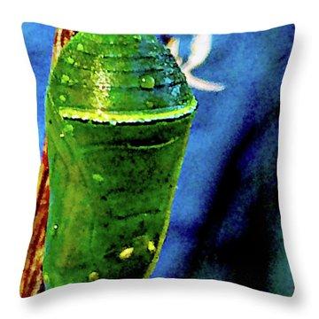 Pre-emergent Butterfly Spirit Throw Pillow
