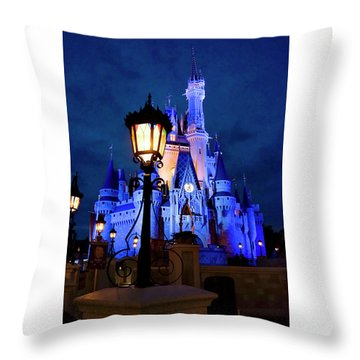 Pre Hw Throw Pillow by Greg Fortier