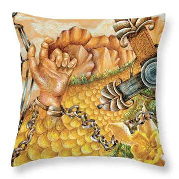 Preacher's Kid Throw Pillow