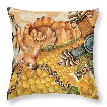 Preacher's Kid Throw Pillow