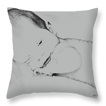 Precious Baby Throw Pillow