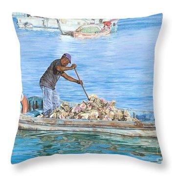 Precious Cargo Throw Pillow