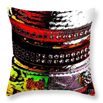 Precious Jewels For The Best Friend Of Man Throw Pillow