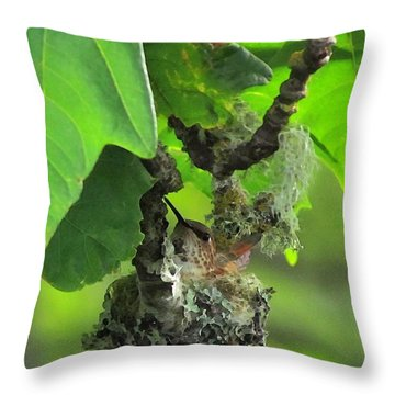 Precious Nature Throw Pillow
