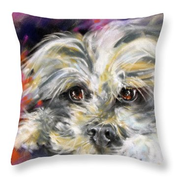'precious' Throw Pillow