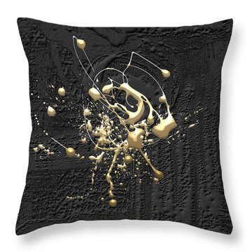Precious Splashes - Set Of 4 Throw Pillow
