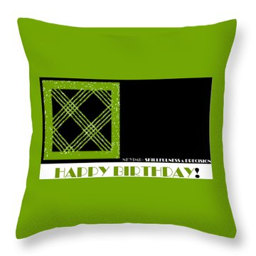 Precision Throw Pillow