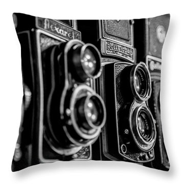 Throw Pillow featuring the photograph Precision Equipment by Keith Hawley