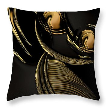 Preconceived Projection Throw Pillow