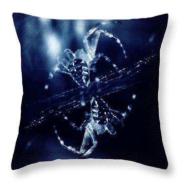 Throw Pillow featuring the digital art Predators  by Fine Art By Andrew David