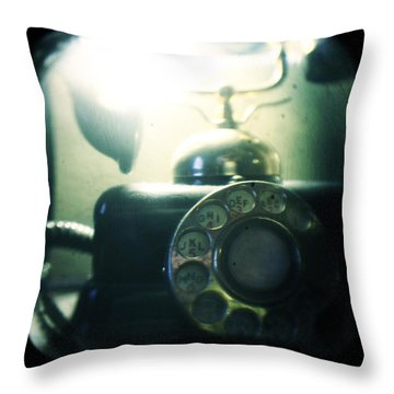 Predecessor Throw Pillow by Andrew Paranavitana