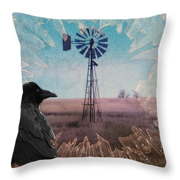 Prelude To A Summer Storm Throw Pillow