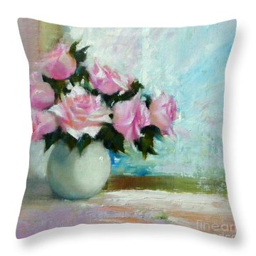 Prelude To October Throw Pillow