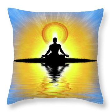 Throw Pillow featuring the photograph  Prema-swarupa by Tim Gainey