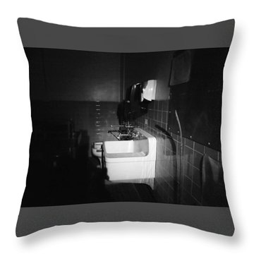 Preparation Throw Pillow