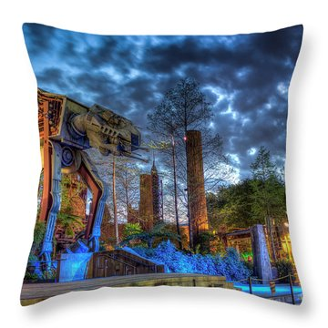 Prepare For Battle Throw Pillow