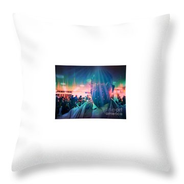 Presence Throw Pillow by Fania Simon